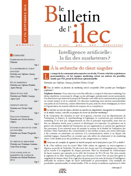 Intelligence artificielle : la fin des marketeurs ?