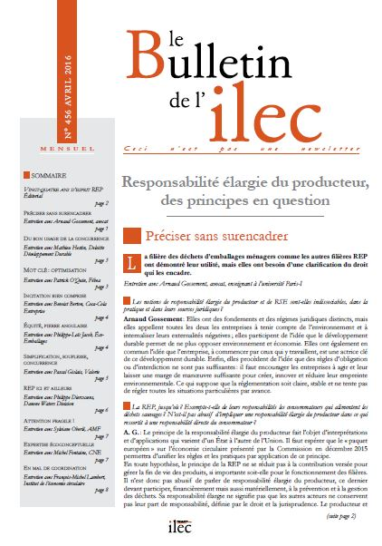 Responsabilité élargie du producteur, des principes en question