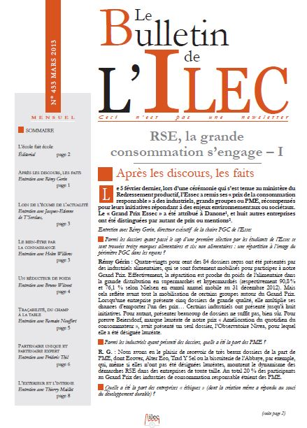 RSE, la grande consommation s'engage – I